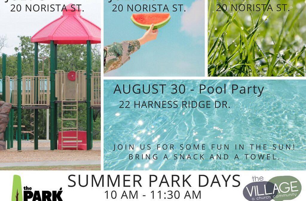 Summer Park Days!