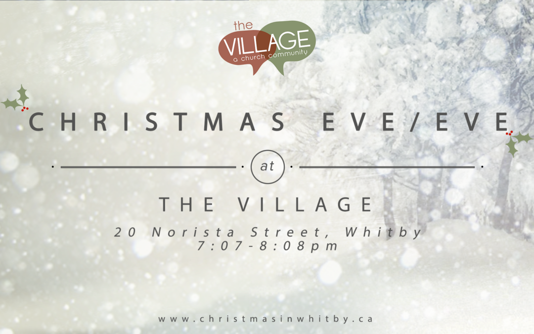 Christmas Eve-Eve